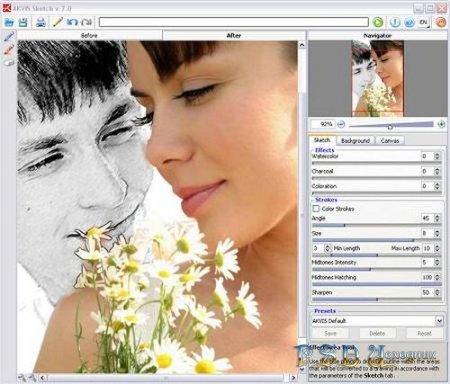 Рисунки из фотографий AKVIS Sketch v.8.6