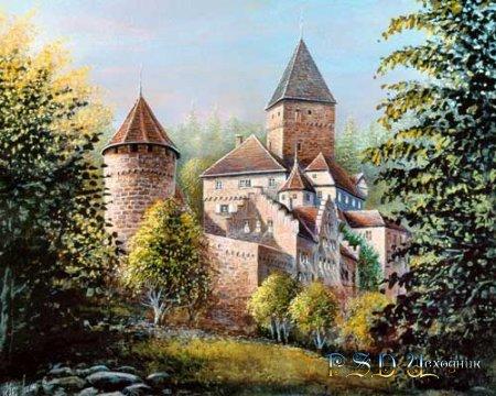 Замок отшельника - PSD исходник