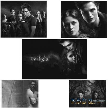 Twilight Сумерки - Кисти для Photoshop