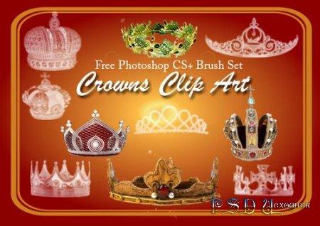 Короны - Кисти для Photoshop