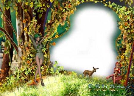 Фоторамка Сказочный лес
