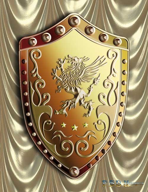 герб psd