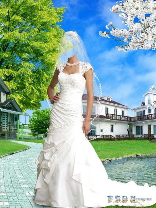 Свадебные Платья Фото Для Мантажа