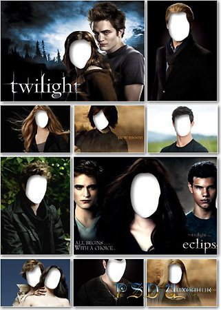 Twilight Templates PSD