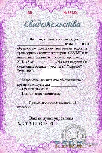 Бланк Сертификата Об Окончании Курсов Маникюра