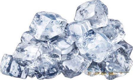 Капли, лед и вода  в формате png