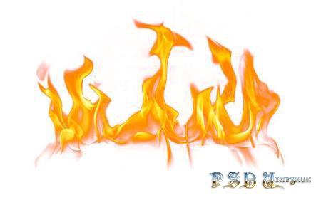Клипарты в помощь фотошоперу - Огонь и пламя png