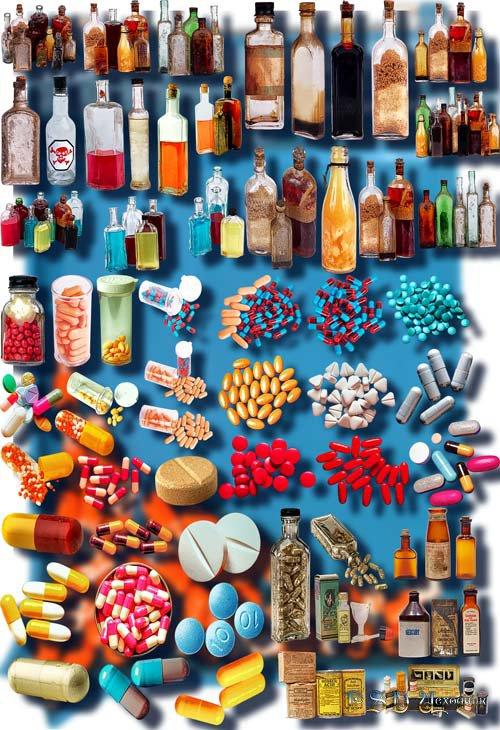 Растровые клип-арты - Лекарства