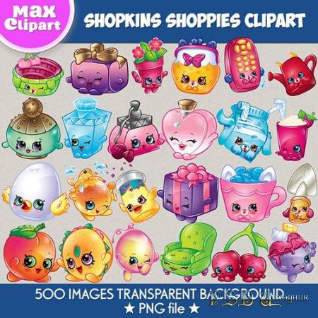 Shopkins Shoppies clipart